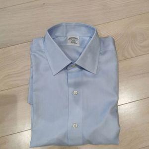 Brooks brothers new cotton non iron dress shirt